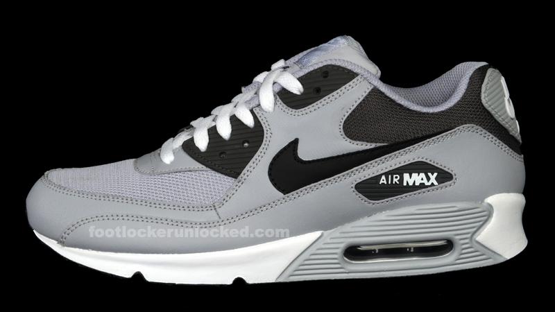 air max black grey