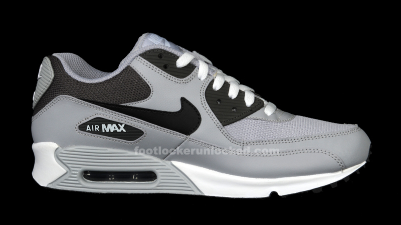 nike air max 90 black grey
