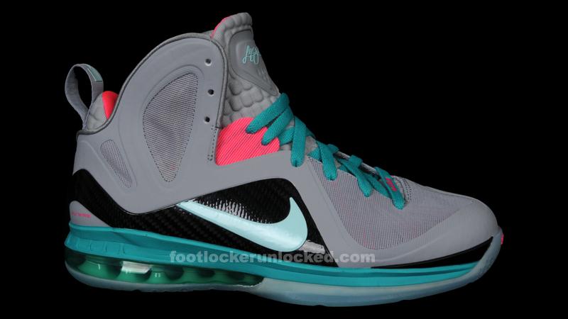 16054060fb9 Nike LeBron 9 P.S. Elite Miami Vice South Beach 516958-001 (3)