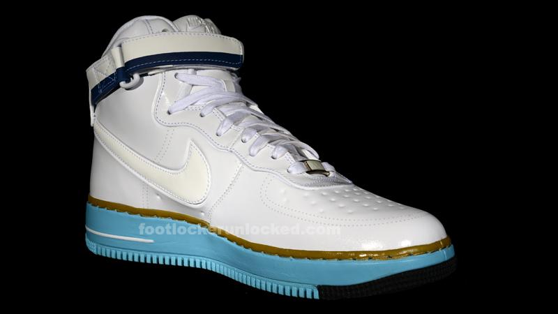 Nike Air Force 1 Faible Drapeau Horizontal Blanc Bleu Rouge