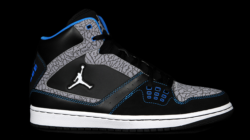 Jordan-1-flight-black-grey-blue