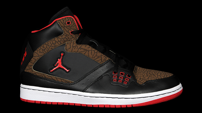 Jordan-1-flight-black-brown-red