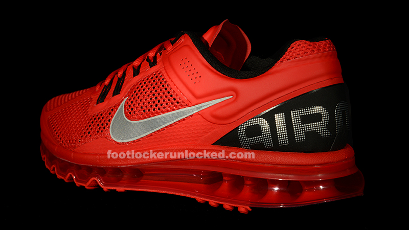 nike air max 2013 red and black