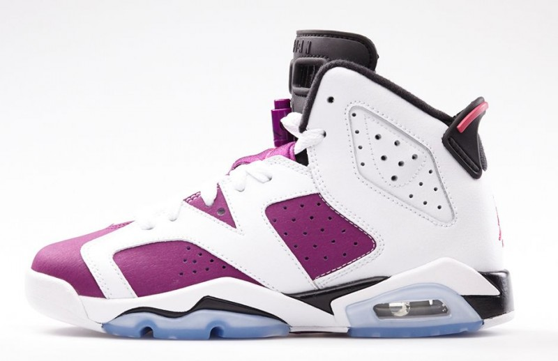 096544d026d8 Fl unlocked gs air jordan 6 retro vivid pink 02-800x518