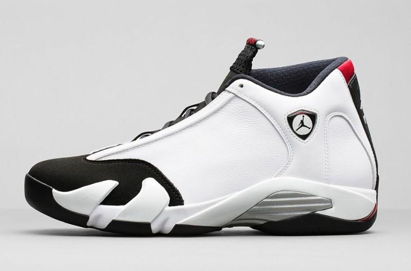 Air Jordan 14 Toe Noir 1998 Calendrier