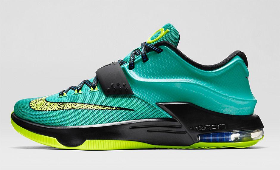 Nike KD 7 Volt Hyper Blue