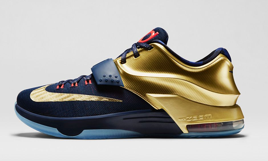huge selection of bc665 b6d6d new arrivals nike kd vii 7 golden black blue 99122 d7d69  release date kd 7  black and gold vault 2a6f8 336e4