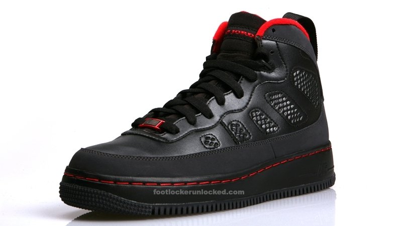 on sale c1002 5a837 AJF 9 (IX). This Fusion blends the look of the Air Force 1 and Air Jordan  ...