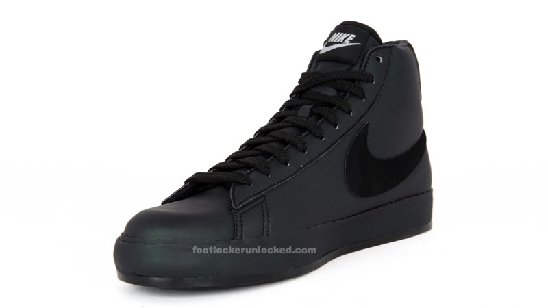"""The black version keeps things simple with an all-black upper with contrasting white accents for a deadly stylish look. While it Off-White x Nike Blazer """"Halloween"""" pack is now confirmed."""