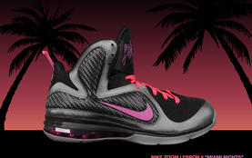 Nike LeBron 9 Miami Nights